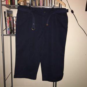 Lauren Jeans Co Women's Cotton Capri Pants